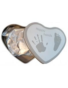 Happy Hands - Corazón Plata