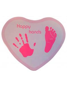 Happy Hands - Corazón Rosa