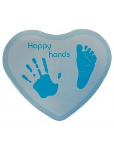 Happy Hands - Corazón Azul