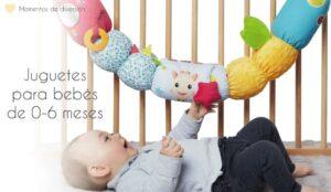 Mejores juguetes 0-6 meses